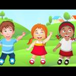 If You Are Happy And You Know It | Nursery Rhymes For Children | Kids Music Videos