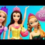 Disney Princess Belle Tea Party Doll & Ipad Princess App Game Play Beauty & The Beast DisneyCarToys