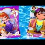 Mermaids Sofia The First + Color Changing Dora The Explorer Magical Treasure Hunt Iluminará Sirenas