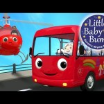 Wheels On The Bus | Part 13 | Nursery Rhymes | By LittleBabyBum!