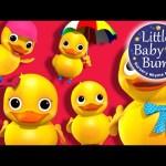 Five Little Ducks | Part 2 | Nursery Rhymes | By LittleBabyBum!