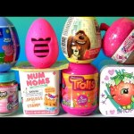 Thanksgiving TOYS SURPRISES Lil Woodzeez Num Nums Peppa Pig Shopkins Chef TROLLS Funtoyscollector