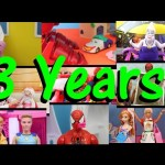 DisneyCarToys 3 Year Birthday Anniversary Favorite Toy Videos + Ball Pit & Frozen Doll Videos
