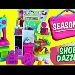 NEW Shopkins Season 3 Playset SHOE DAZZLE Limited Edition Bags Exclusive Jelly Shopkins Toys