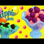 Play Doh Dippin' Dots Ice Cream & Ice Cream Cones For MagiClip Frozen Dolls, Peppa & Minnie Mouse