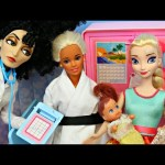 Spiderman & Frozen Elsa VS Doctor! Barbie is Sick! Funny Superheroes in Real Life Parody + Baby