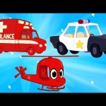 Ambulance And Police Get Help from Morphle – Kids and Baby Videos