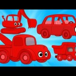 Morphle Vehicle Super Compilation – cars trucks and other excavators for kids