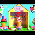 Peppa Pig Softee Dough Peppa's Sweet Shop Ice Cream Maker – DIY Ice Cream Swirl Sundae Scoops Donuts