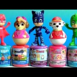 PJ Masks and Paw Patrol Weebles Wobble Disney Toys Surprise Mashems & Fashems Sofia My Little Pony