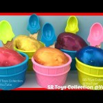 Pearl Clay Slime Surprise Eggs The Secret Life of Pets Trolls Snoopy Disney Frozen Winnie the Pooh