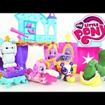 My little Pony Crystal Princess Palace Surprise Guest Big Hero 6 Baymax Pinkie Pie Play Doh Desert