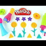 Play Doh SUPER TOOLS 3 Playdough Extruders Colorful Shapes and Molds DCTC Toy Episodes