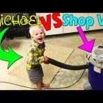 Michael VS the Shop Vac