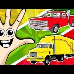 Cars and Trucks Finger Family Plus Lots More Nursery Rhymes Compilation by Animated Surprise Eggs TV