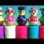 Nickelodeon Paw Patrol Weebles Mashems & Fashems Surprise Weeble Wobble Disney Toys Peppa Pig
