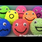 Foam Clay Smiley Face Surprise Toys Trolls Monster High Bonkazonks Justice League Minions Shopkins
