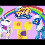 Moon Dough Breakfast with Disney Frozen My Little Pony Peppa Pig Play Doh Toy Episode