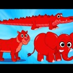 Cute Scary Animal Videos With Morphle  – Tiger, Crocodile, Elephant
