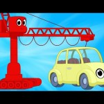 Cranes And Cars with Morphle – Animations For kids