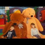 Kids playing in indoor playground.  More fun, more toys. Video from KIDS TOYS CHANNEL