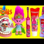Trolls Poppy Brush Teeth with LOL Doll Surprises