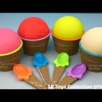 Play Doh Ice Cream Surprise Cups Spiderman Anpanman Minnie Mouse Goofy The Secret Life of Pets Toys