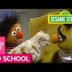 Sesame Street: Ernie Surprises Bert with a Puppy