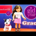 AMERICAN GIRL 2015 American Girl Girl of the Year Grace Doll American Girl  Video Review