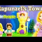 DISNEY PRINCESS RAPUNZEL'S TOWER Tangled Rapunzel's Tower Toys Video