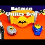 BATMAN DC Heroes Batman Utility Belt Imaginext Batman Video Toy Review