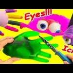 Cutting Open Squishy Hands Slime Brains Eyeballs What's Inside