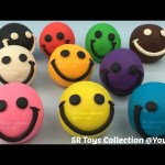 Play Doh Smiley Face with Fish and Star Cookie Cutters