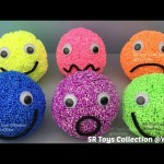 Playfoam Happy Sad Smiley Face Surprise Eggs Marvel Avengers Finding Dory Star Wars Disney Pixar Toy