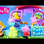 Bubble Guppies Play Doh Market Peppa Pig Bubbletucky SuperStore Playdough Foods + Vegetables DCTC