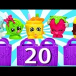 MEGA Play Doh Surprise Eggs Shopkins Season 2 Toys DCTC Juguete de Plastilina Huevos Sorpresa