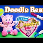 DOODLE BEAR The Orginal Doddle Bear Write On Markers YouTube Toy Video TheEngineeringFamily