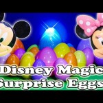 DISNEY MAGIC Surprise Eggs Spiderman Disney Superman Batman Disney Surprise Egg Video