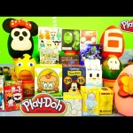 Playdough Surprise Eggs Videos Minnie Mouse Big Hero 6 Kingdom Hearts Play-Doh Disney Cars Toy Club