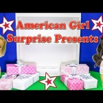 AMERICAN GIRL Surprise Present American Girl Suprise Video TheEngineeringFamily