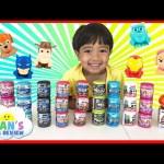 HUGE 27 MASHEMS & FASHEMS Surprise Toys Opening for Kids Surprise Kinder Egg Disney Cars