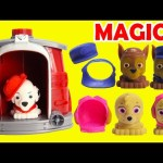 Paw Patrol Pups Lose Their Clothes Marshall's Magical Pup House
