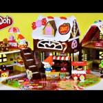 Hello Kitty & Mimmy Sweet Candy House Play Doh Cookies Treats Plastilina la Pasticceria Ciao Gattino