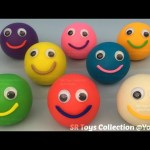 Fun with Play Dough Smiley Face and Cookie Cutters Creative for Kids