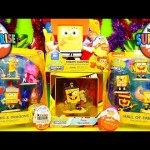 Spongebob Squarepants Toys Super Unboxing Kinder Joy Surprise Eggs Disney Cars Toy Club DCTC