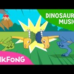 The Head-butting Master, Pachycephalosaurus | Dinosaur Musical | Pinkfong Songs for Children