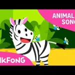 Zebra Cadabra | Zebra | Animal Songs | Pinkfong Songs for Children