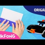 Police Car | Car Song With Origami | Pinkfong Origami | Pinkfong Songs for Children