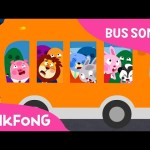 The Wheels on the Orange Night Bus | Bus Songs | Car Songs | PINKFONG Songs for Children