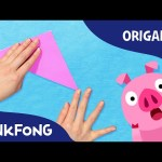 Did You Ever See My Tail?| Animal Song With Origami | PINKFONG Origami | PINKFONG Songs for Children